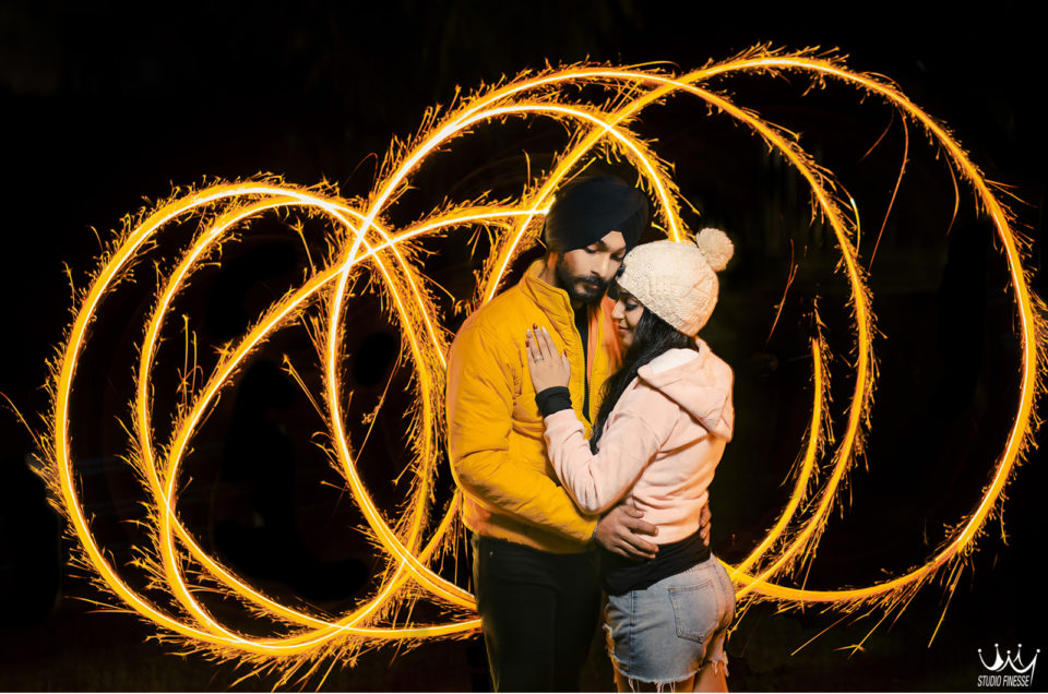 Jasmine + Vishu | Pre Wedding shoot by Studio Finesse | Rishikesh